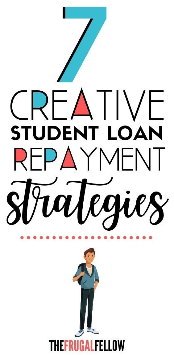 Do you need to repay student loans? Use these 7 creative ways to pay off student loans to help you get out of debt.