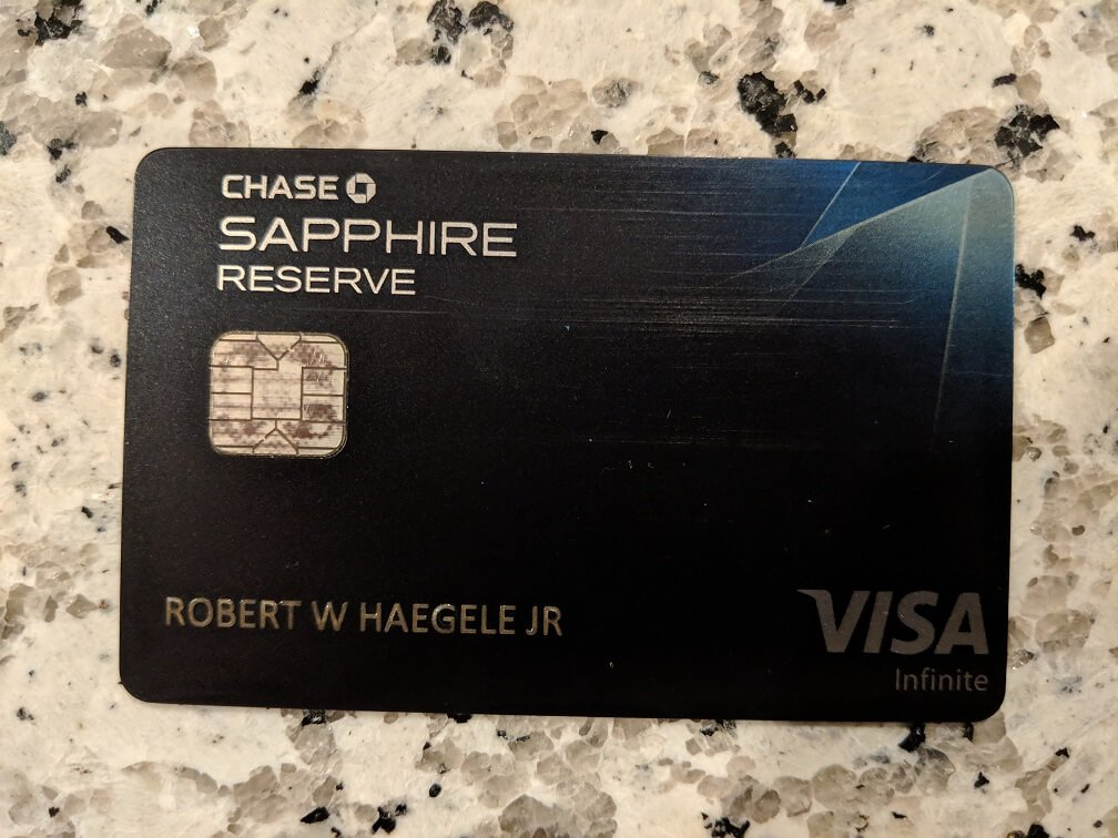 Chase Sapphire Reserve
