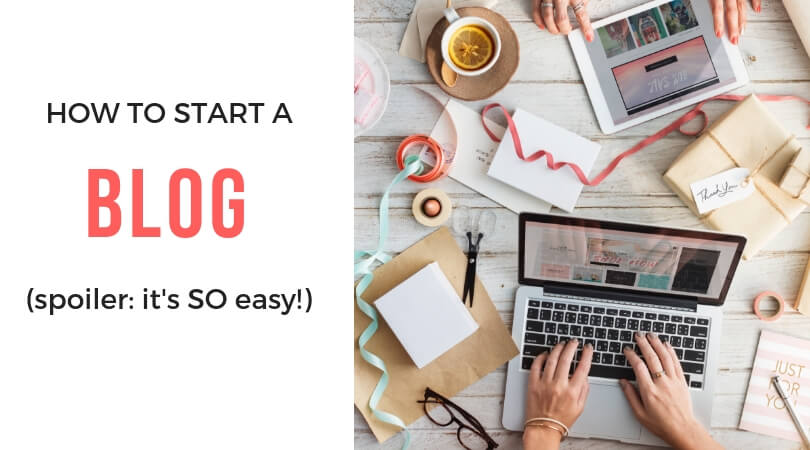 How to Start a Blog and Make a Full-Time Income from Home
