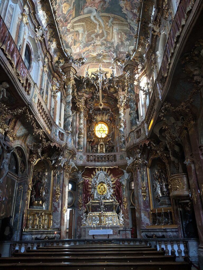 Asamkirche (Asam Church) in Munich, Germany.