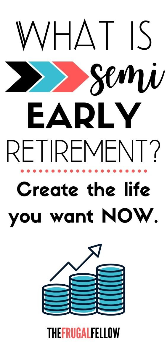Early semi-retirement is creating the life you want now rather than waiting to fully retire.