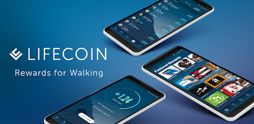 Apps that pay you to walk LifeCoin