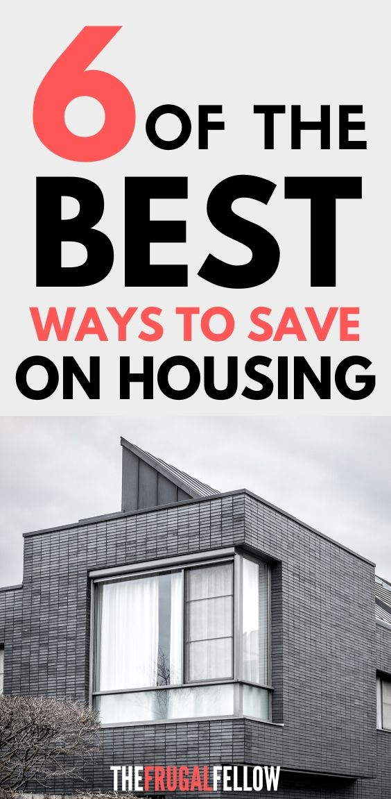 Save money on house - want to save money on housing? Read this post to find out how.