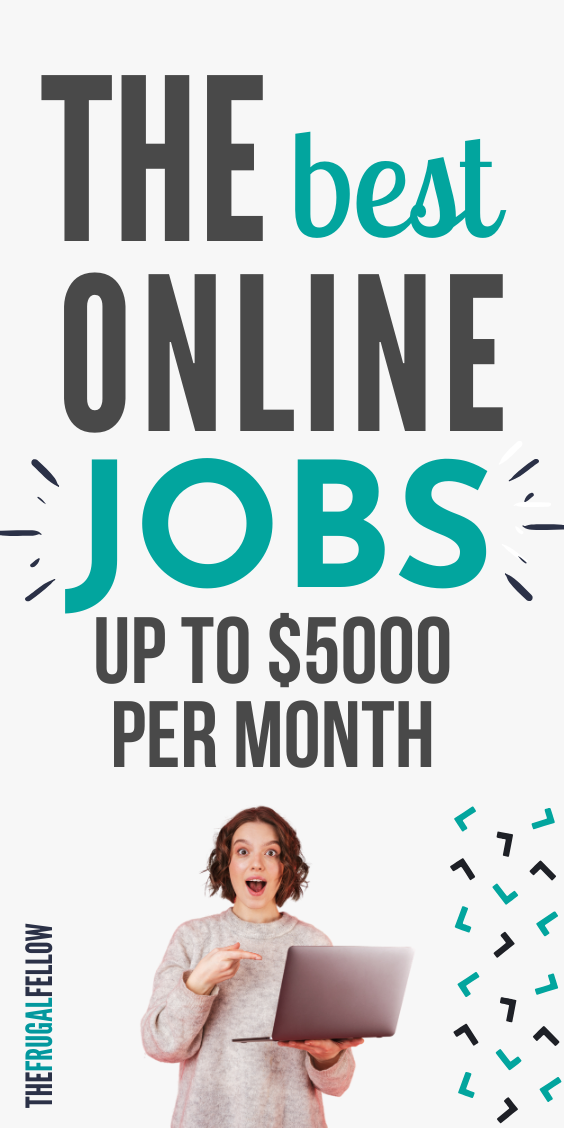Check out this post for work from home jobs ideas. Get side hustle ideas, make money online or even quit your job.