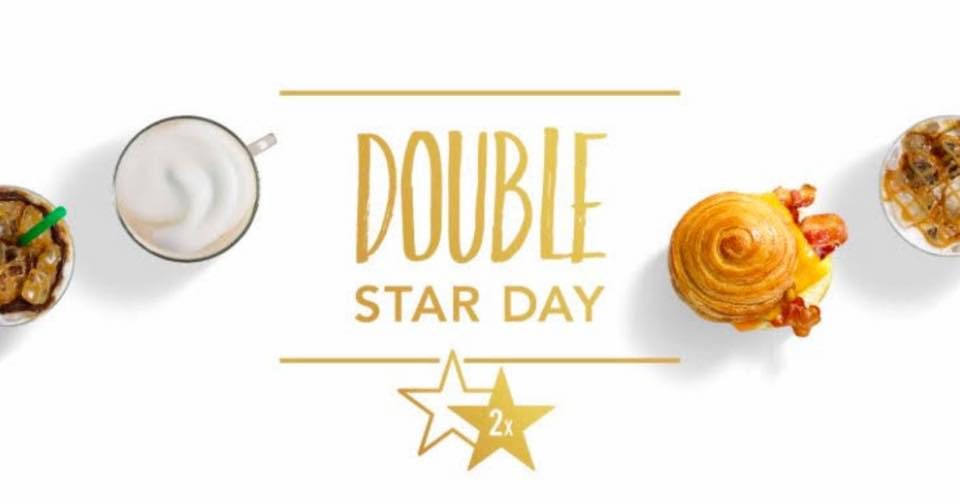 Double-Star Days are a great way to get free Starbucks.