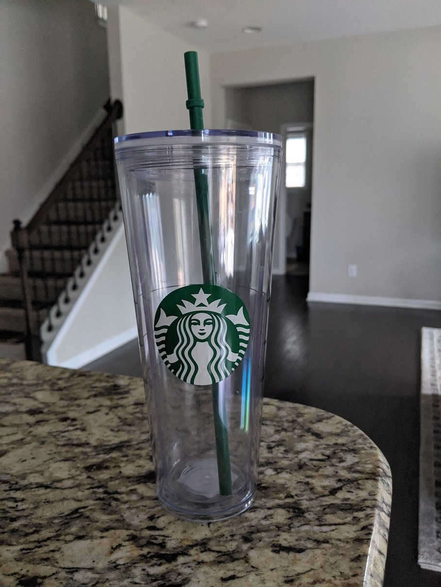 Double-Walled Starbucks Reusable Cup