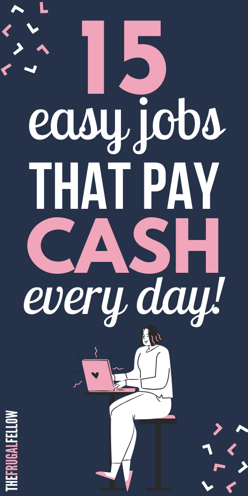 If you want to know how to make money from home, check this post for ideas to make money and how to make money online. These online jobs will help you make extra money with a new side hustle idea.