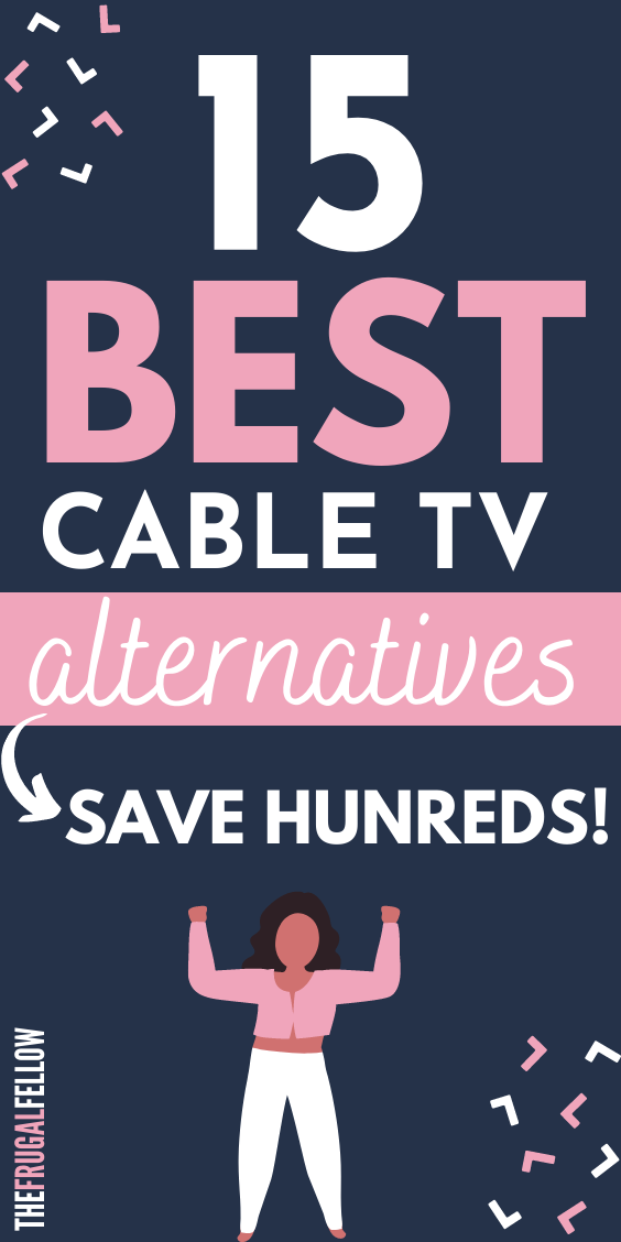 These cable TV alternatives will help you save hundreds every year by using streaming services, an HD antenna, and other options.