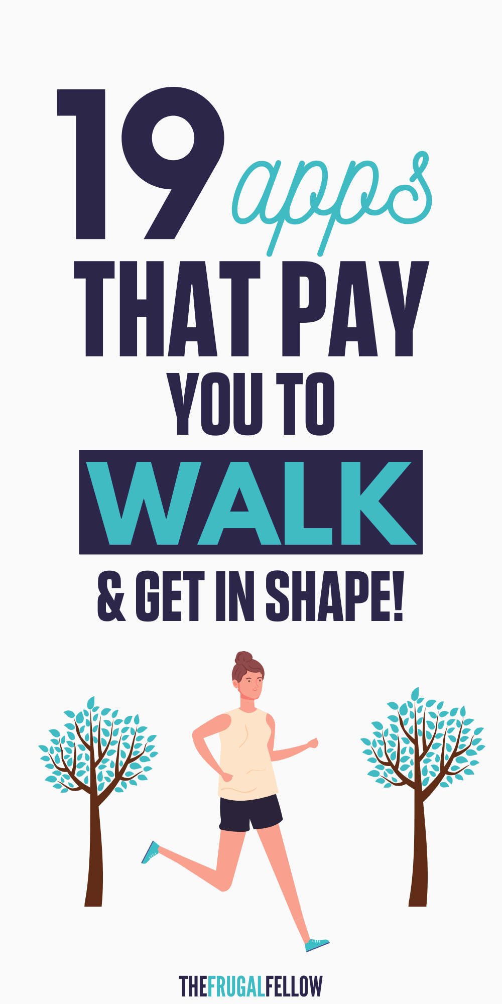 These apps that pay you to walk are some of the best apps that make you money. Pay yourself first by getting paid to walk and get in shape. That's right, apps that pay you to workout are a reality these days. Check out these apps to make money now!
