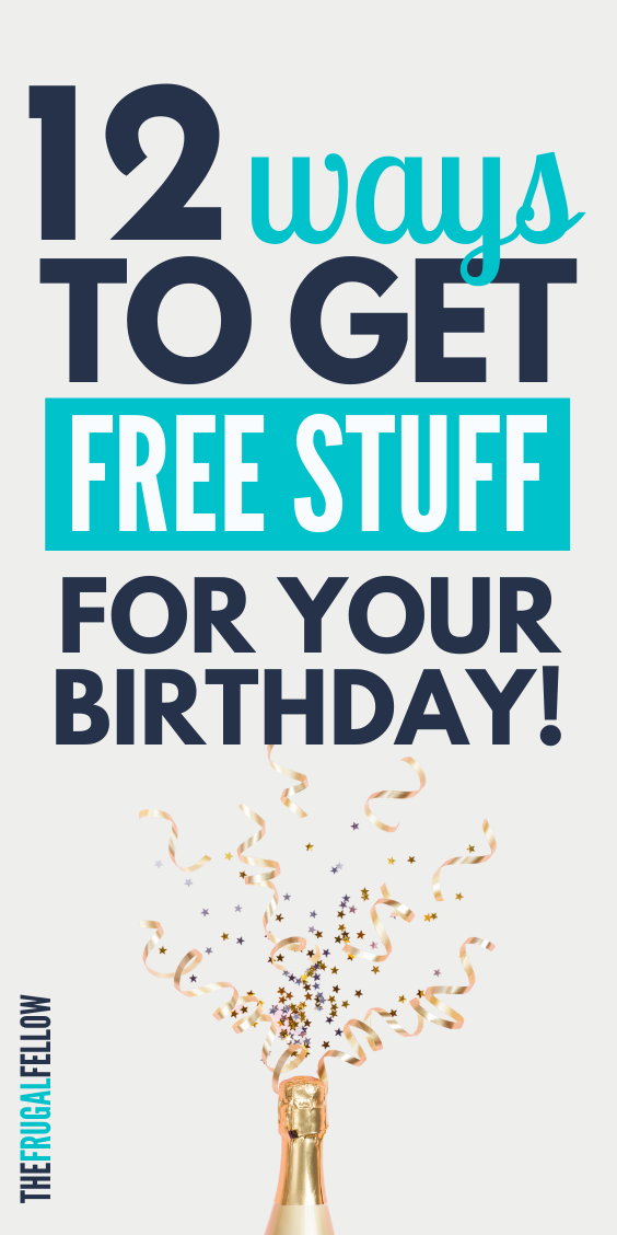 Free stuff - how to get. Want to know how to get free stuff for your birthday? Check out this post for ideas.
