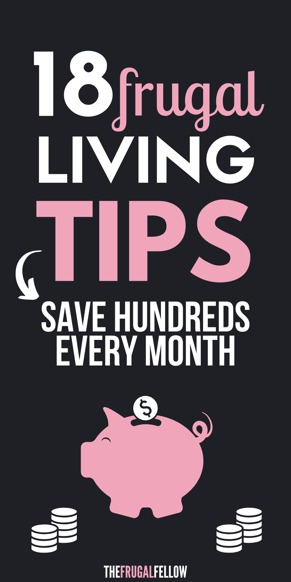 These frugal living ideas will help you with frugal living and being frugal. If you want to know how to be frugal, check this out!