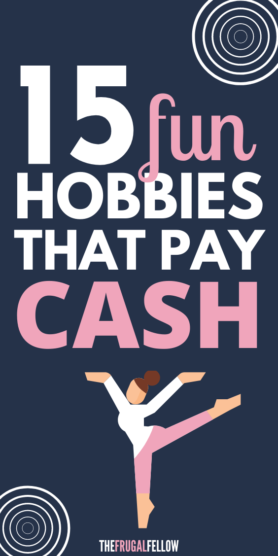 Are you looking for hobbies that make money? These money making hobbies will help you make money online in your free time by doing things you enjoy. Make extra money from home with these side hustles.